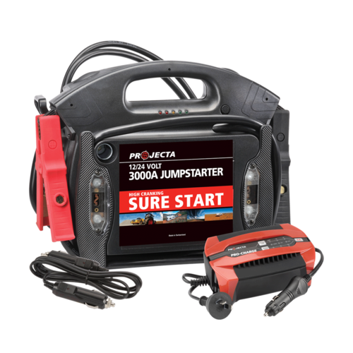 12/24V 3000A SURE START JUMPSTARTER