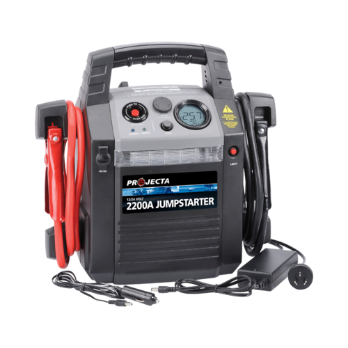 12/24V 2200A HIGH PERFORMANCE JUMPSTARTER AND POWER SUPPLY