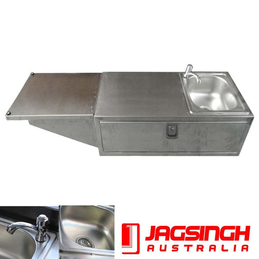 Camper Kitchen Stainless Steel