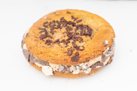 Peanut Butter Cup Cookie Sandwich