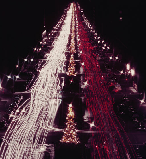 """Christmas Lights"" Getty Images Collection by Slim Aarons Photography - Global Images USA"