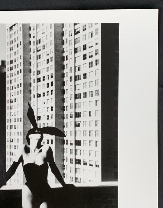 """Elsa Peretti In New York, 1975"" Hand Signed w Dated w Estate Copyright Stamp On Verso 20x24 Vintage Silver Gelatin by Helmut Newton Photography - Global Images USA"