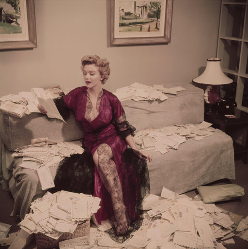"""Fan Mail, Marilyn Monroe"" Getty Images Collection by Slim Aarons Photography - Global Images USA"