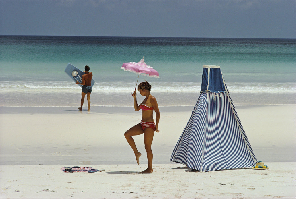 """Harbour Island, Bahamas"" 20x30 Perspex Acrylic Getty Images Collection by Slim Aarons Photography - Global Images USA"