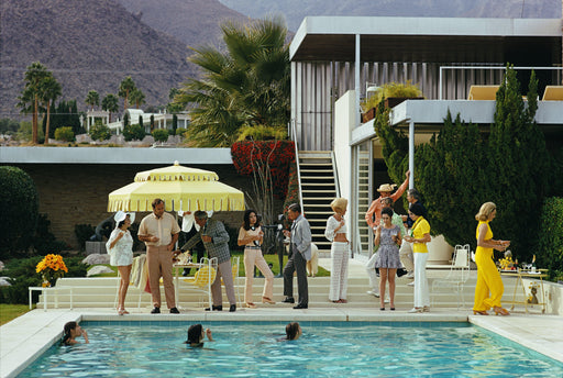"UNFRAMED ""Poolside Host"" 40x60 Limited Edition #1 of 150 by Slim Aarons Photography  (Inquire for Price) - Global Images USA"