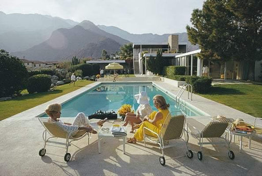 "UNFRAMED ""Poolside Ladies"" 30x40 Limited Edition #1 of 150 by Slim Aarons Photography  (Inquire for Price) - Global Images USA"