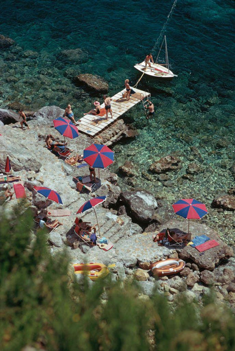 Porto Ercole by Slim Aarons - Getty Images Gallery - C-Type Fine Art Print - globalimages.art - 1