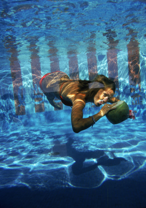 """Underwater Drink"" Getty Images Certified Collection by Slim Aarons Photography - Global Images USA"