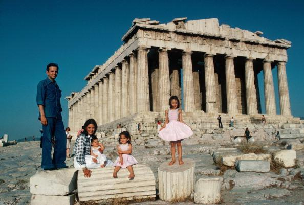 Vourekas-Petalas Family by Slim Aarons - Getty Images Gallery - C-Type Fine Art Print - globalimages.art - 1