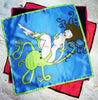 Octopussy silk pocket square