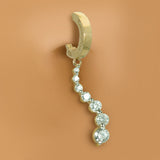 Amazing 14K Yellow Gold & Diamond Belly Button Ring | .50ct - TummyToys