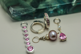 Pink Belly Ring Pack | Sterling Silver & Pink CZ Bundle Deal - TummyToys