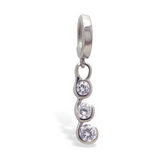 Steel Belly Button Ring Pack | TWO Surgical Steel Belly Button Rings - TummyToys
