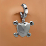 Femme Metale's Love Bones Belly Button Ring - TummyToys