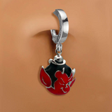 Femme Metale's Lil' Devil Belly Button Ring - TummyToys
