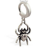 Femme Metale Lil' Spider Belly Button Ring - TummyToys