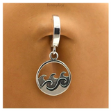 Surfer Belly Ring | Solid Sterling Silver | Perfect for Summer! - TummyToys