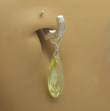 Changeable Sexy Lemmon Ice Crystal Drop Swinger Charm By Tummytoys - TummyToys