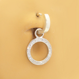 Changeable Circle Of Life Belly Ring Swinger Charm - TummyToys