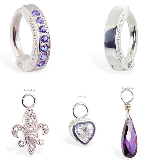 Purple Belly Ring Pack | TummyToys - TummyToys