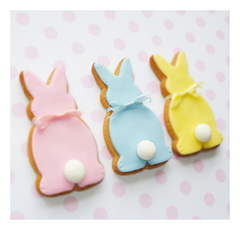 Esater Bunny Cookie Recipe from Feather Grey