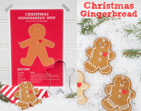 Feather Grey Christmas Gingerbread Recipe