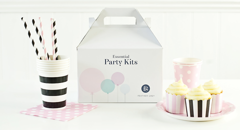 Feather Grey Essential Party Kits