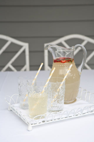 Lemoncello Tea Party Ideas from Feather Grey