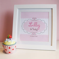 Personalised childrens picture by Feather Grey