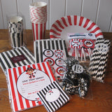 Feather Grey Pirate Party Kit