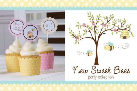 Bumble Bee Party Collection by Feather Grey Parties