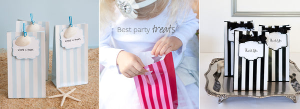 Paper Eskimo Party Favour Bags