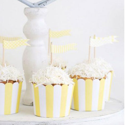 Lemoncello cupcake treat cups