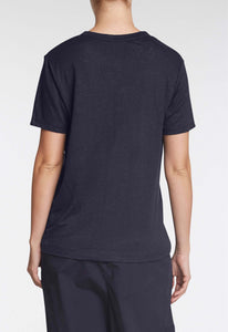 Columbia Linen Tee - Darkest Navy