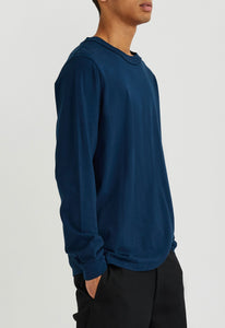 Eve L/S Tee - Blue Shard