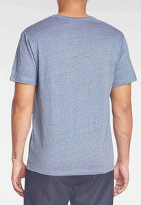 Yale Linen Tee - Aerial