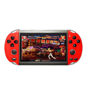 "32/64/128 Bit 5"" 7"" LCD X9 plus Double rocker 16G Handheld Retro Game Console Video MP5 TF Card for GBA/NES 10000 games"