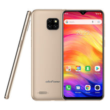 Load image into Gallery viewer, Ulefone Note 7 Smartphone 3500mAh 19:9 Quad Core 6.1inch Waterdrop Screen 16GB ROM Mobile phone WCDMA Cellphone Android8.1