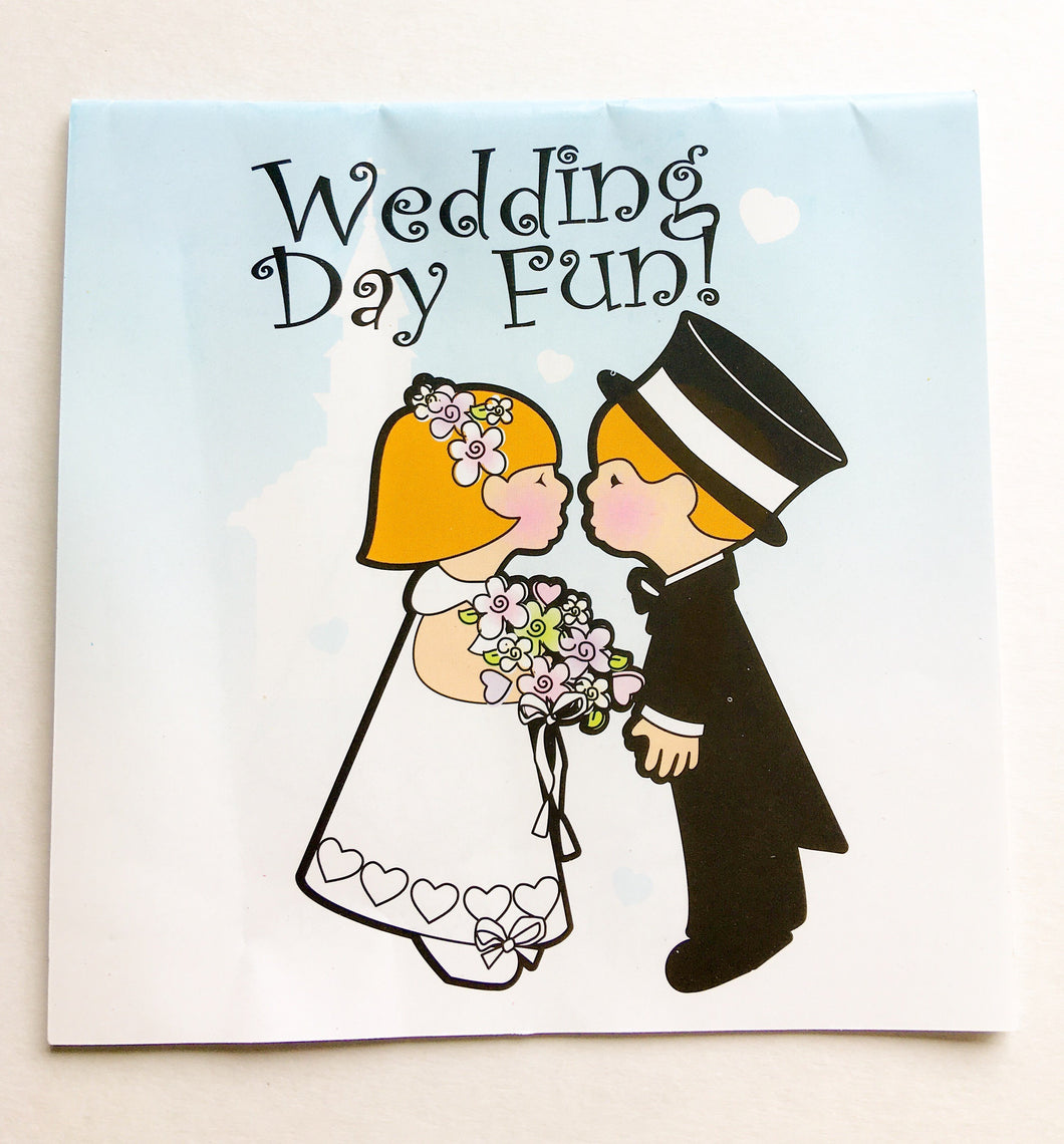 Wedding colouring book
