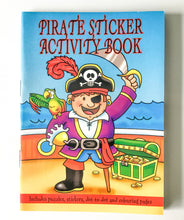 Load image into Gallery viewer, Mini pirate colouring book