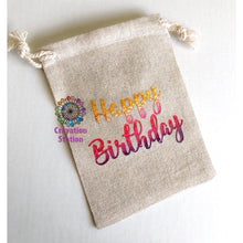 Load image into Gallery viewer, Small happy birthday bag🎉 (empty)