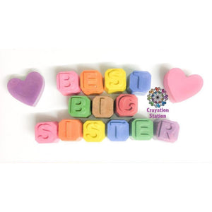 Small block 'best big sister' or 'brother'