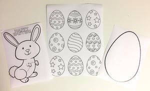 Easter colouring pictures(3)