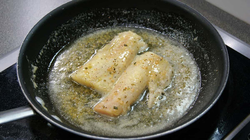 Garlic Butter Poached Pollock | Pacific Bay