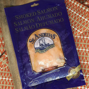 St. Andrews Garlic Smoked Salmon
