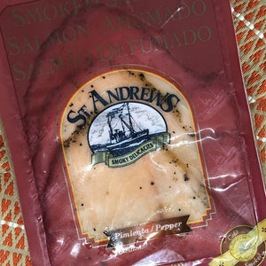 St. Andrews Pepper Smoked Salmon