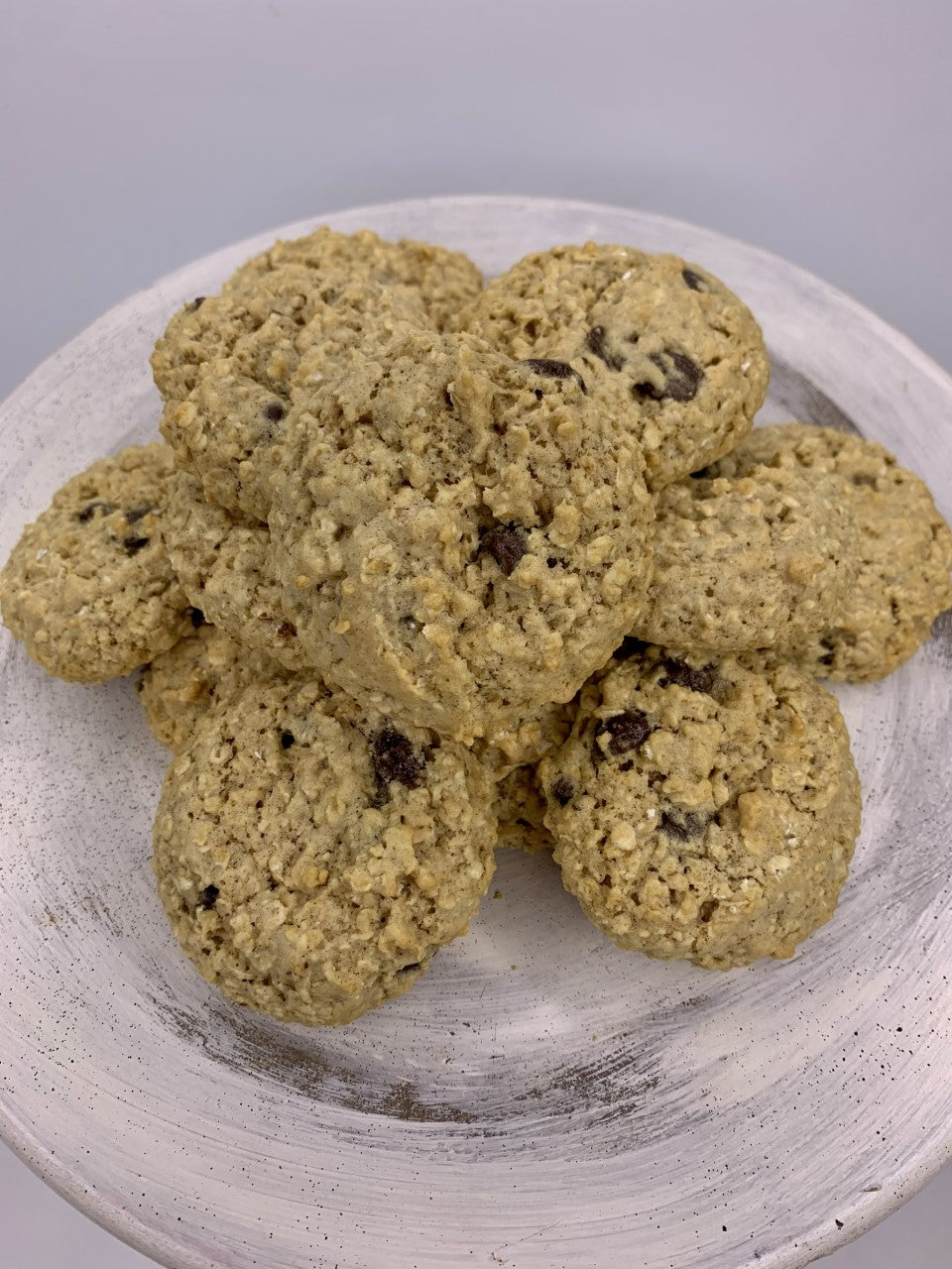 Low Fat Chewy Oatmeal Chocolate Chip