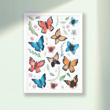 Load image into Gallery viewer, Butterflies Print