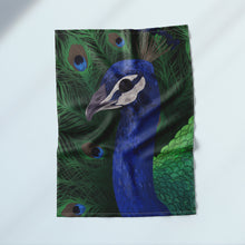 Load image into Gallery viewer, Peacock Tea Towel