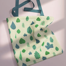 Load image into Gallery viewer, Spring Leaves Tote Bag
